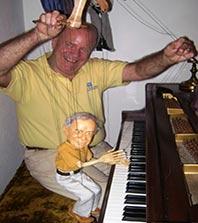 Portrait puppe, marionette-1