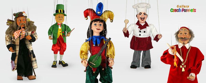 Dekorative Marionetten