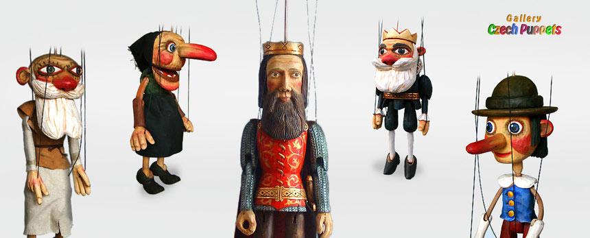 Autoren Marionetten aus Holz