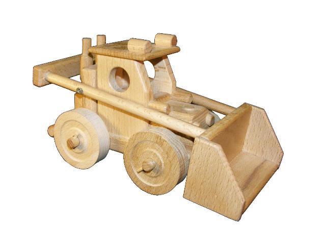 Auflader, Holzspielzeug