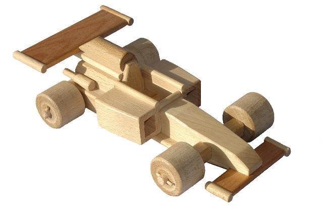 Auto Formel, Holzspielzeug