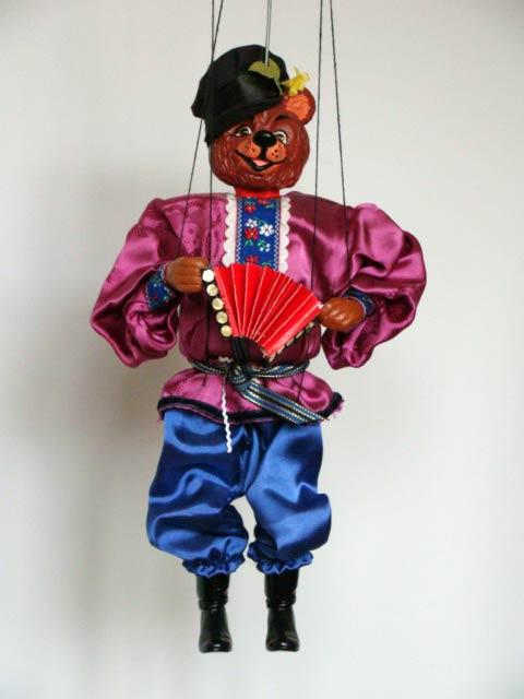 Bär marionette