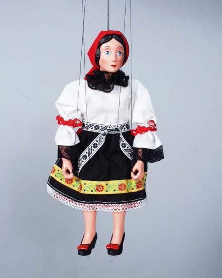 Bäuerin marionette