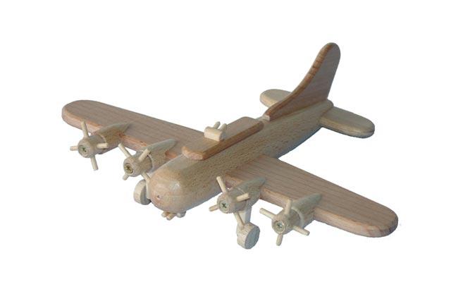 Bomber B17 Holzspielzeug