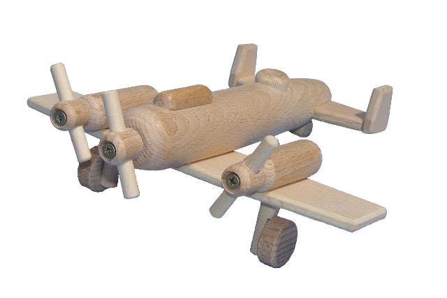 Bomber, Holzspielzeug