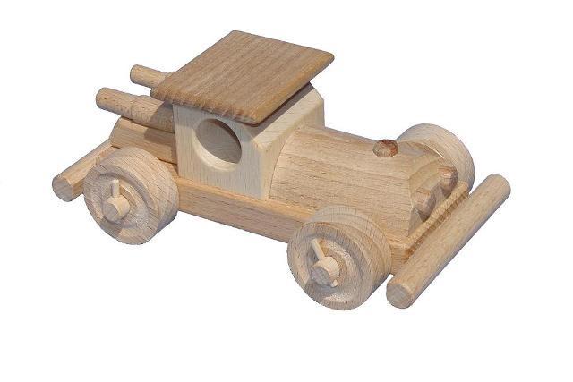 Buggy, Holzspielzeug