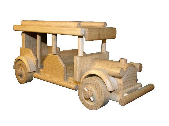 Bus Holzspielzeug