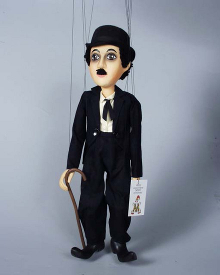 Chaplin ,  marionette puppe