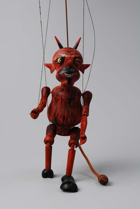 Teufel Holzmarionette