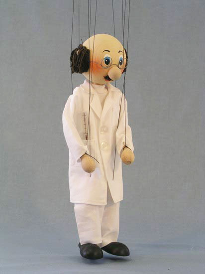 Doktor ,  marionette puppe