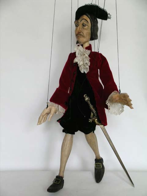 Don Giovanni ,  marionette puppe
