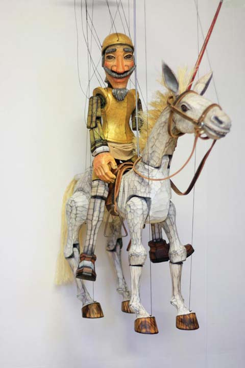 Don Quijot ,  marionette puppe