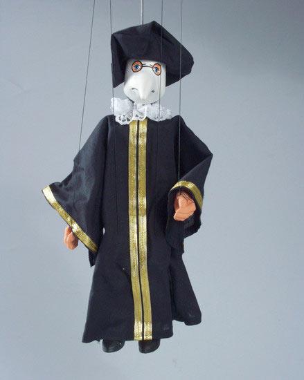 Dr.Peste , marionette puppe