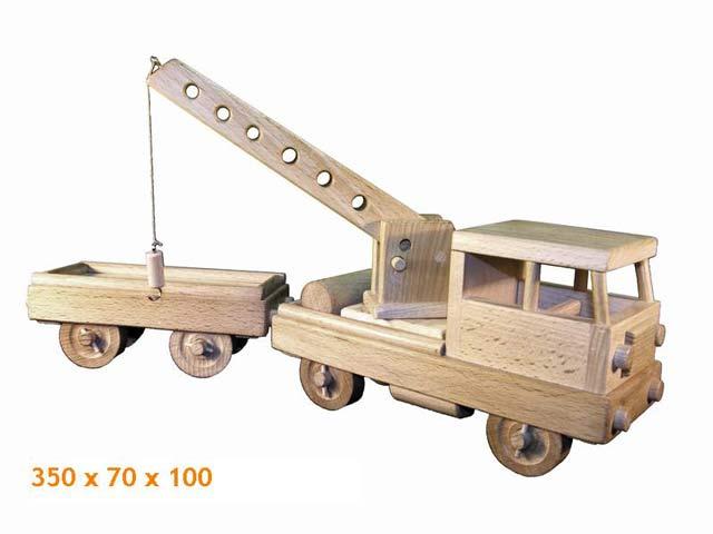 Draisine, Holzspielzeug
