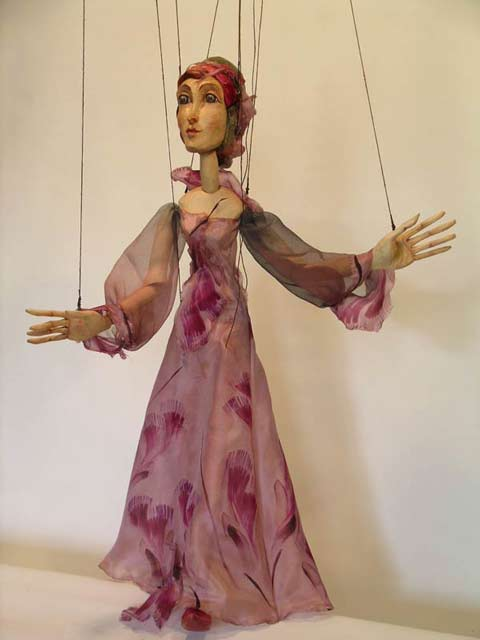 Fee marionette puppe