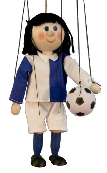 Fußballspieler marionette