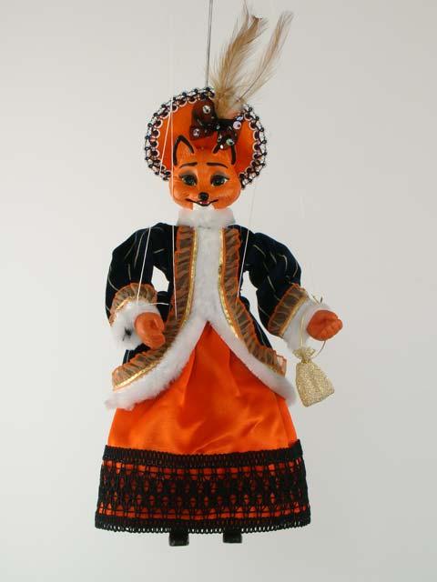 Füchsin , marionette puppe