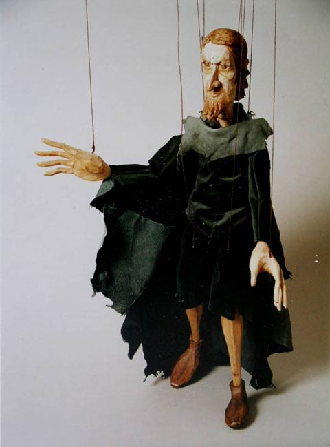Geizige Ritter ,  marionette puppe