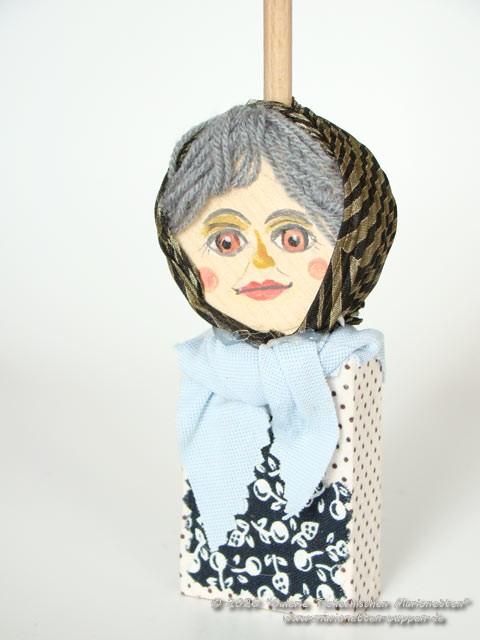 Großmutter Holzspielzeug