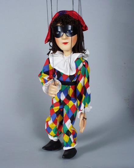 Harlekin marionette