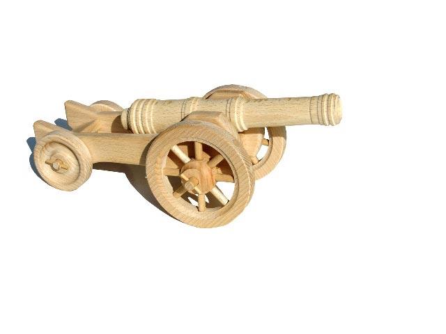 Haubitze Holzspielzeug