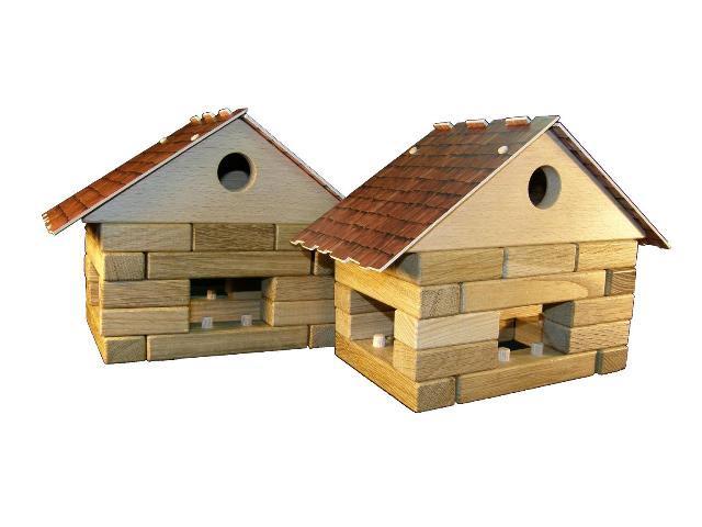 Häuschen Holzspielzeug