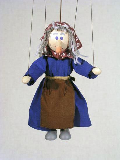Hexe marionette