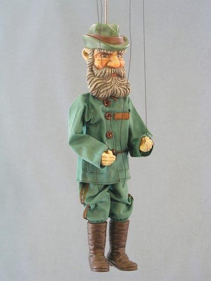 Jäger , marionette puppe