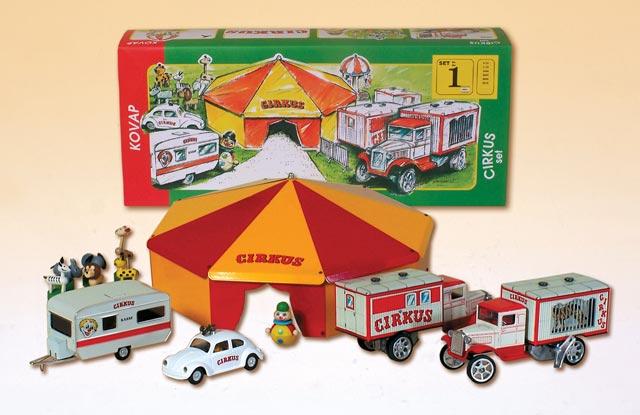 Zirkus Set blechspielwaren