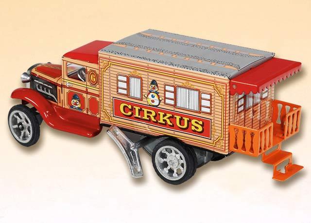 Hawkeye Zirkuswohnmobil ,  blechspielware