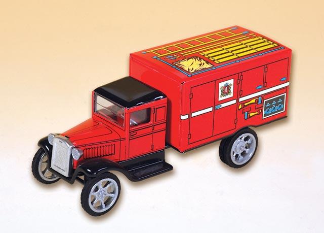 Hawkeye Feuerwehr Kastenwagen ,  blechspielware