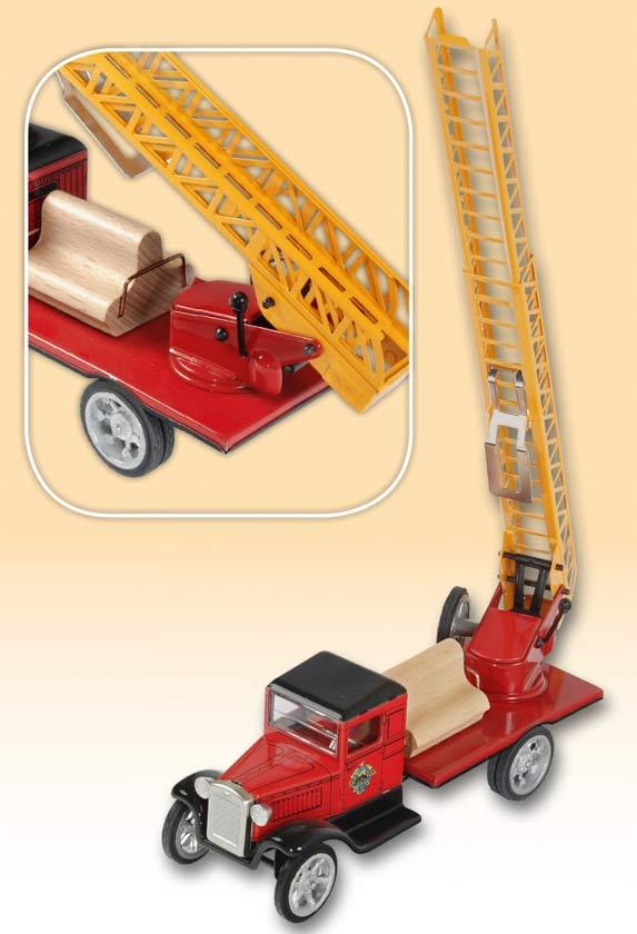 Hawkeye Feuerwehr Drehleiterwagen ,  blechspielware