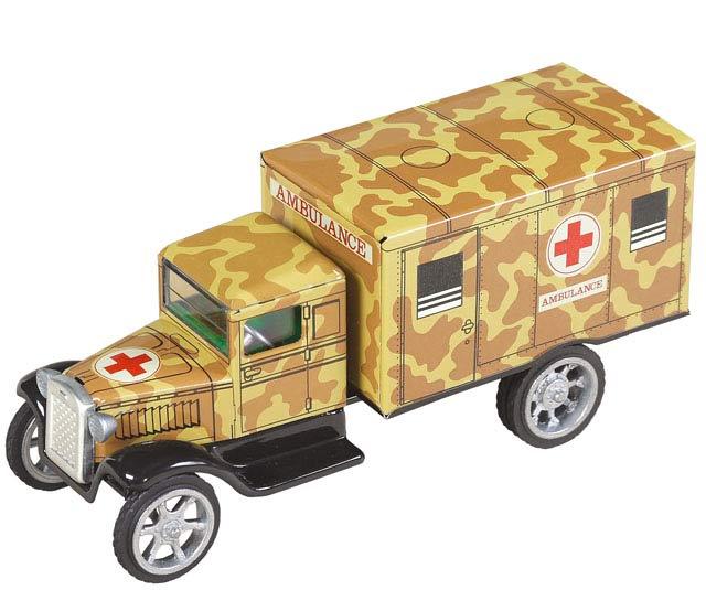 Hawkeye Ambulanz blechspielware