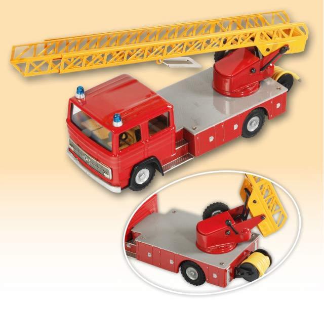 Mercedes LP Feuerwehr Drehleiterwagen blechspielware