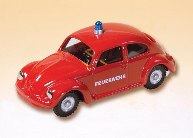 VW Käfer Feuerwehr blechspielware