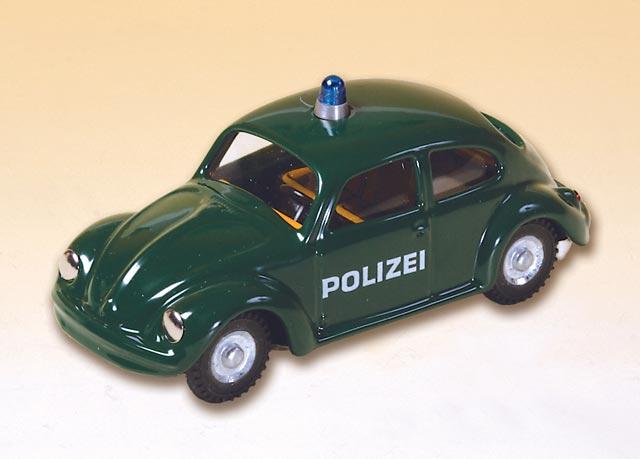 VW Käfer Polizei blechspielware