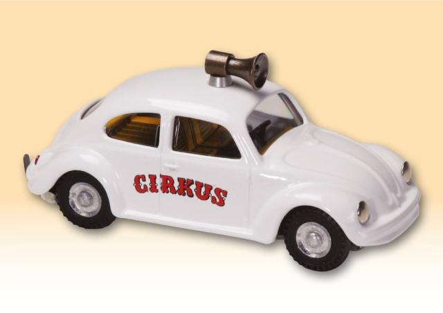 VW Käfer Zirkus blechspielware