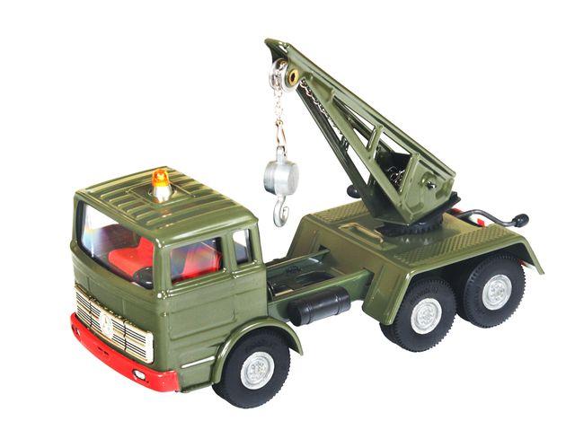 Mercedes Militär Kran blechspielware