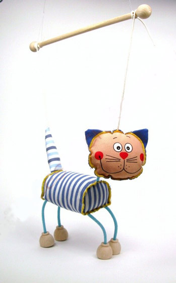 Kater , marionette puppe