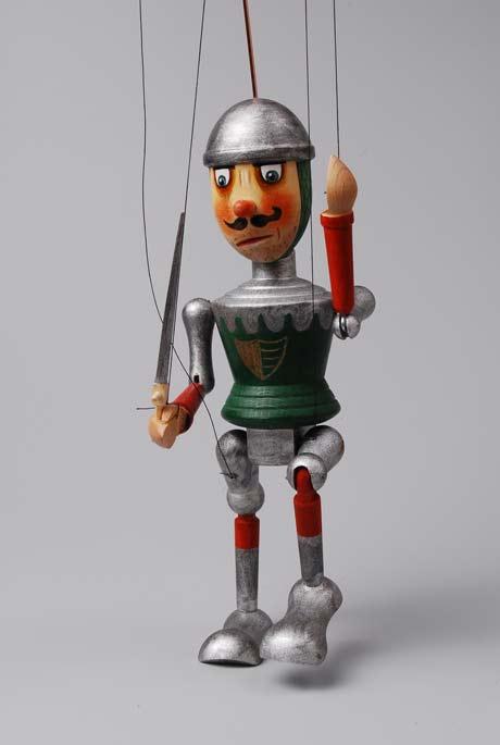 Ritter Holzmarionette