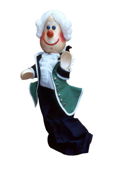 Lakai , marionette handpuppe