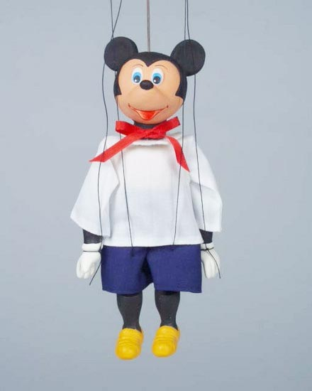 Micky Maus marionette
