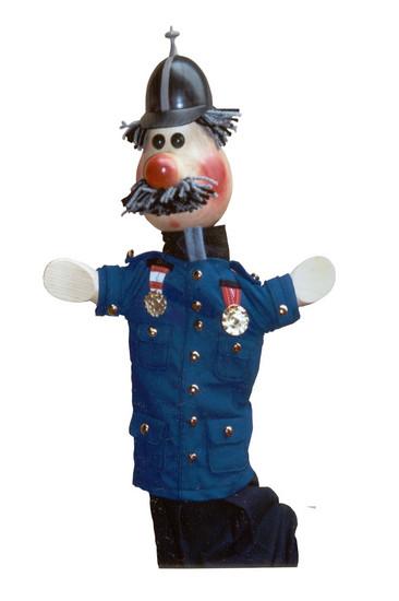 Polizei handpuppe