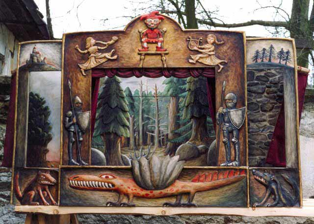 Sammlerstück Puppentheater