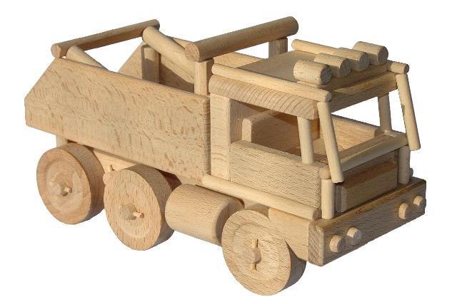 Rally Dakar Holzspielzeug