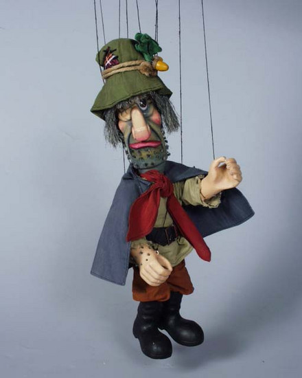 Räuber marionette