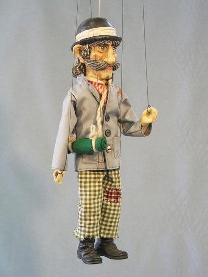 Reisende , marionette puppe