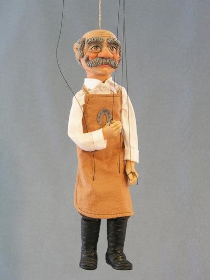Schmied marionette