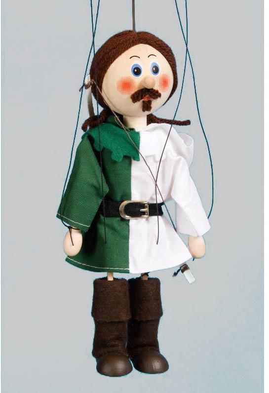 Robin Hood marionette