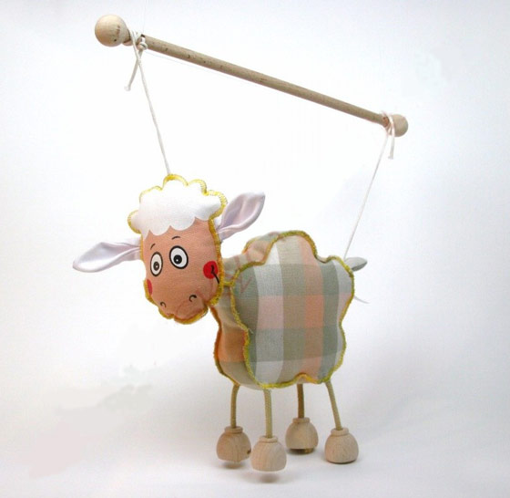 Sheep , marionette puppe